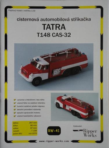 041  *  TATRA  T148  CAS-32(1:32)  *  RW