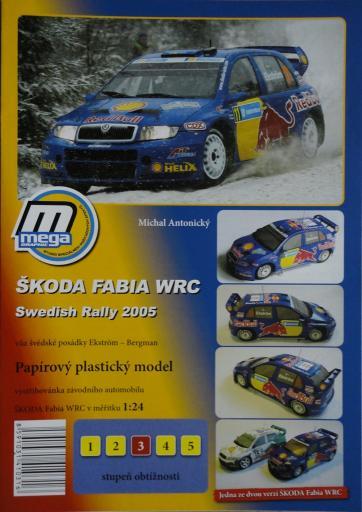 017  *  SKODA  FABIA  WRC 2005(1:2005)  *  MEGA