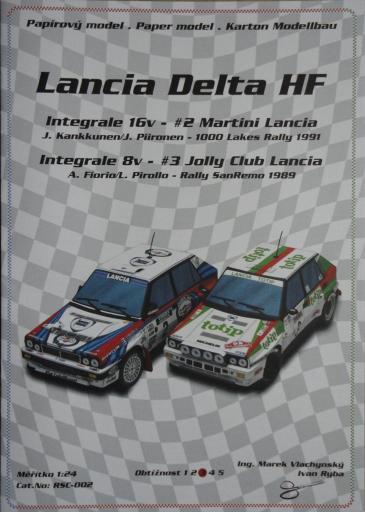 092  *  Lanca Delta HF(1:24)  *  Ondr Hejl-Rally