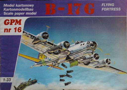 016a  * Boeing B-17G (1:33)  *  GPM-ct