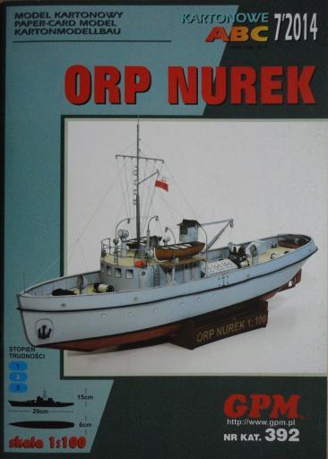 GP-377   *   7\14\392   *   ORP  NUREK(1:100)