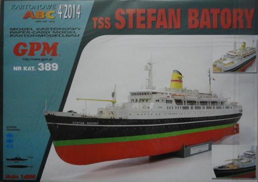GP-374  *   4\14\389   *   tss STEFAN  BATORY(1:200)