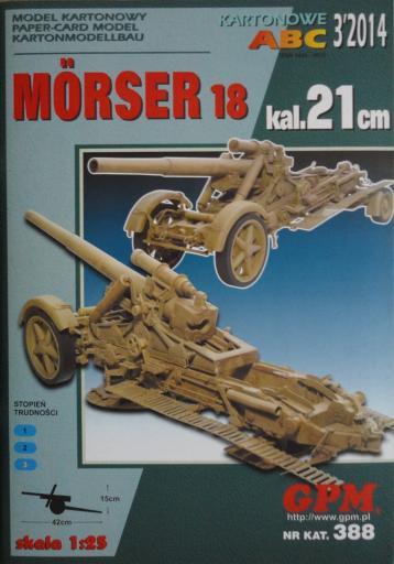 GP-373   *   3\14\388  *  MORSER-18 kal.21cm.(1:25)