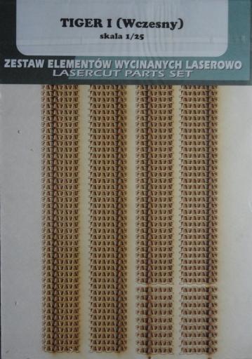 гусеницы Tiger I (Wczesny) (1:25)   *   GPM
