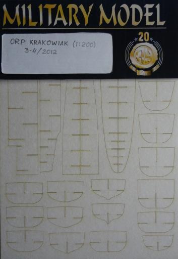 резка ORP Krakowiak(1:200)   *   HAL   3-4/2012