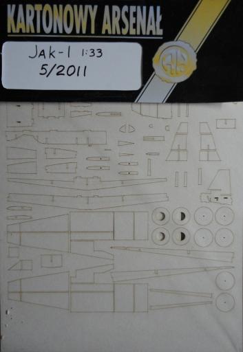 резка Jak-1(1:33)   *   HAL  5/2011