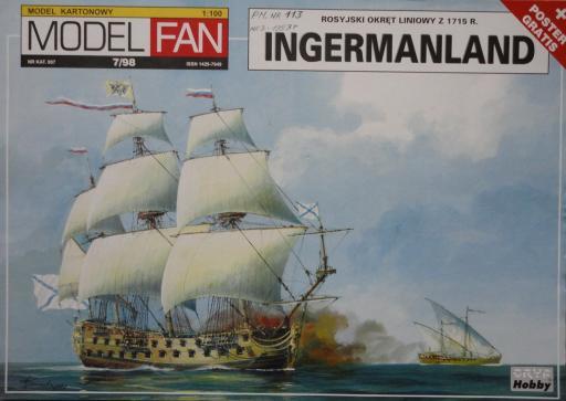 07   *   7\98   *   INGERMANLAND(1:100)   *   Mod Fan