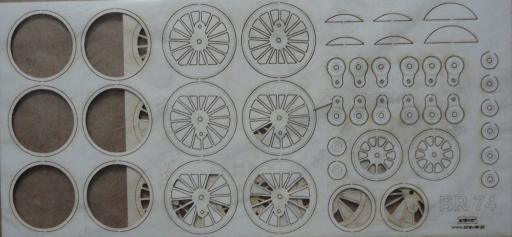 резка колеса  Br-74(1:45)   *   Answer