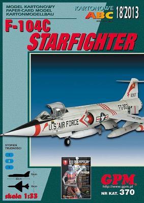 GP-355   *   18\13\370   *    F-104C Starfighter (1:33)