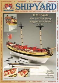 049   *   HMS  Wolf  1752(1:96)   *   SHIP