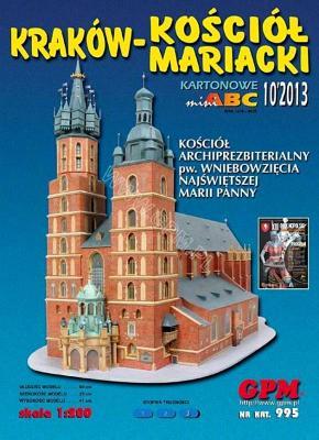 995   *   10\13    *   Krakow-Kosciol Mariacki (1:200)    *    GPM-ARH