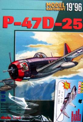 GP-008   *   19\96\093   *   P-47 D-25 (1:33)   +  кабина