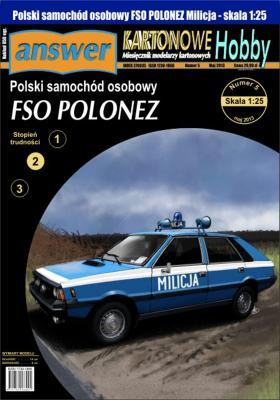 042   *   9\13    *   Polski samochod osobowy FSO Polonez (1:25)   *   Answer  KH