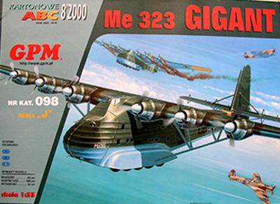 GP-090   *   8\00\098   *  Me 323 Gigant (1:33)