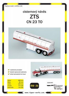 036    *   ZTS CN 23 TO (1:32)   *   RW