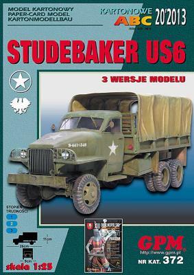 GP-357   *   20\13\372   *   Studebaker US6 (1:25)